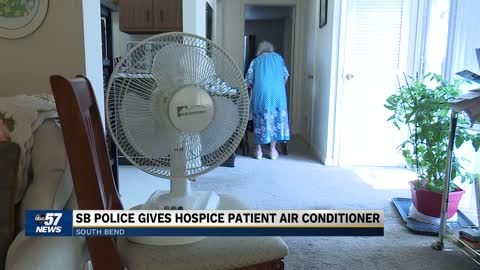 South Bend woman in need of air conditioner calls police for...